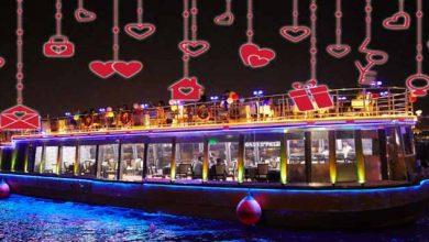 Photo of إحتفلوا بعيد الحب 2020 في رحلة بحرية رائعة على قارب الداو بخور دبي