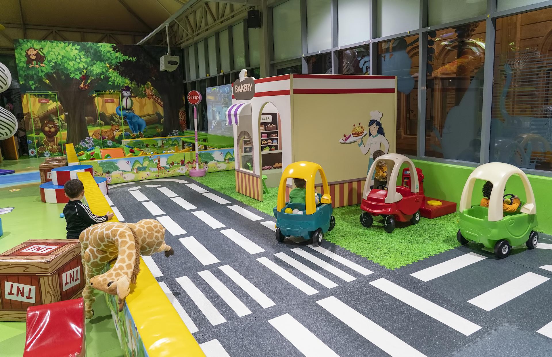 بيت المرح للأطفال