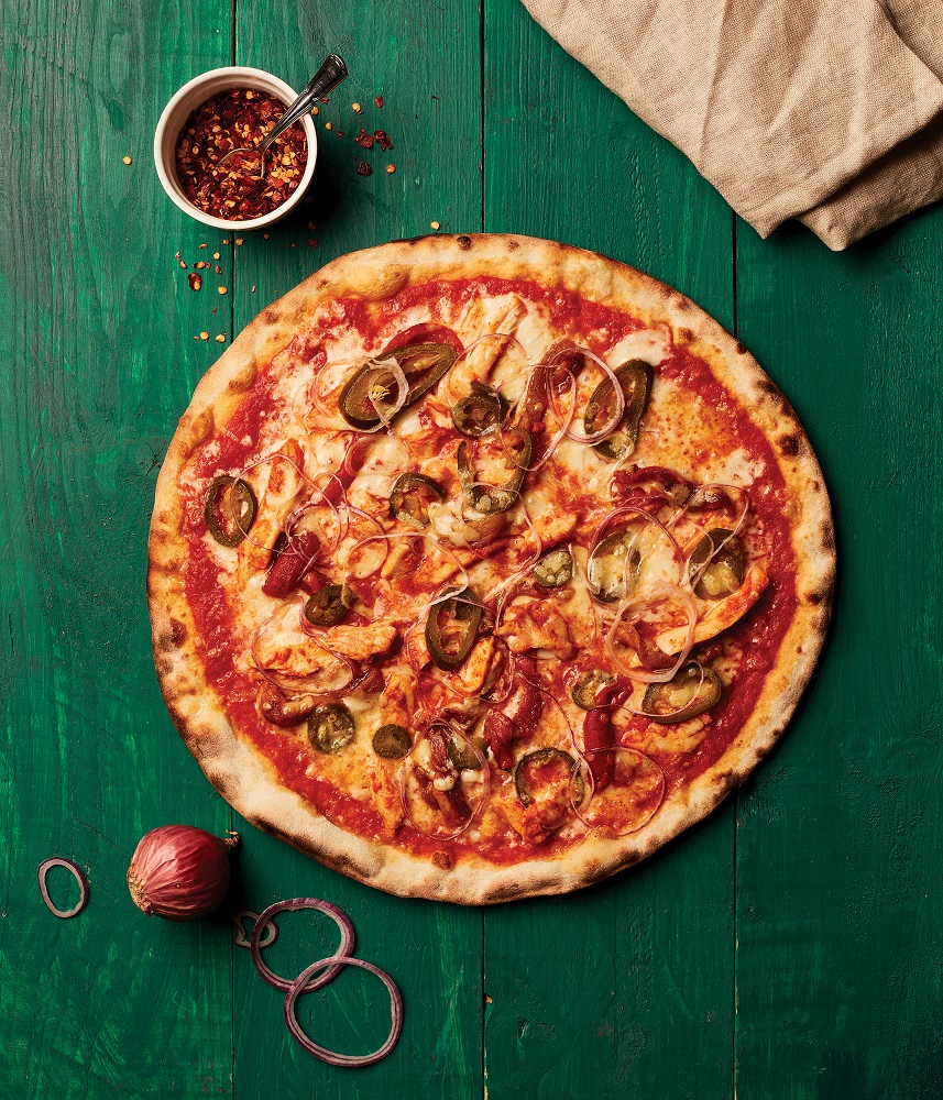 بيتزا تيكا بيكانتي الجديدة tikka piccante pizza