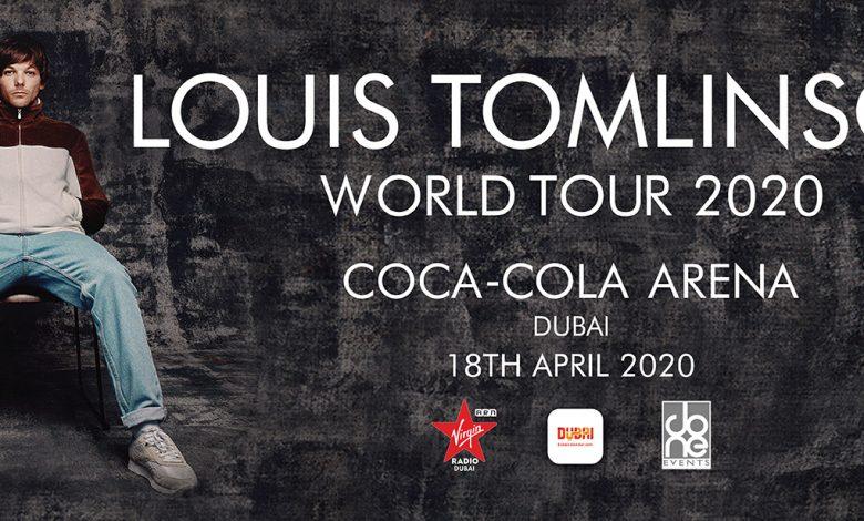 حفل المغني العالمي لويس توملينسون في دبي