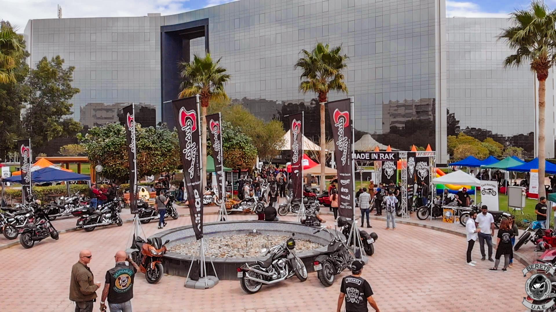نادي درّاجات ناريّة في دبي