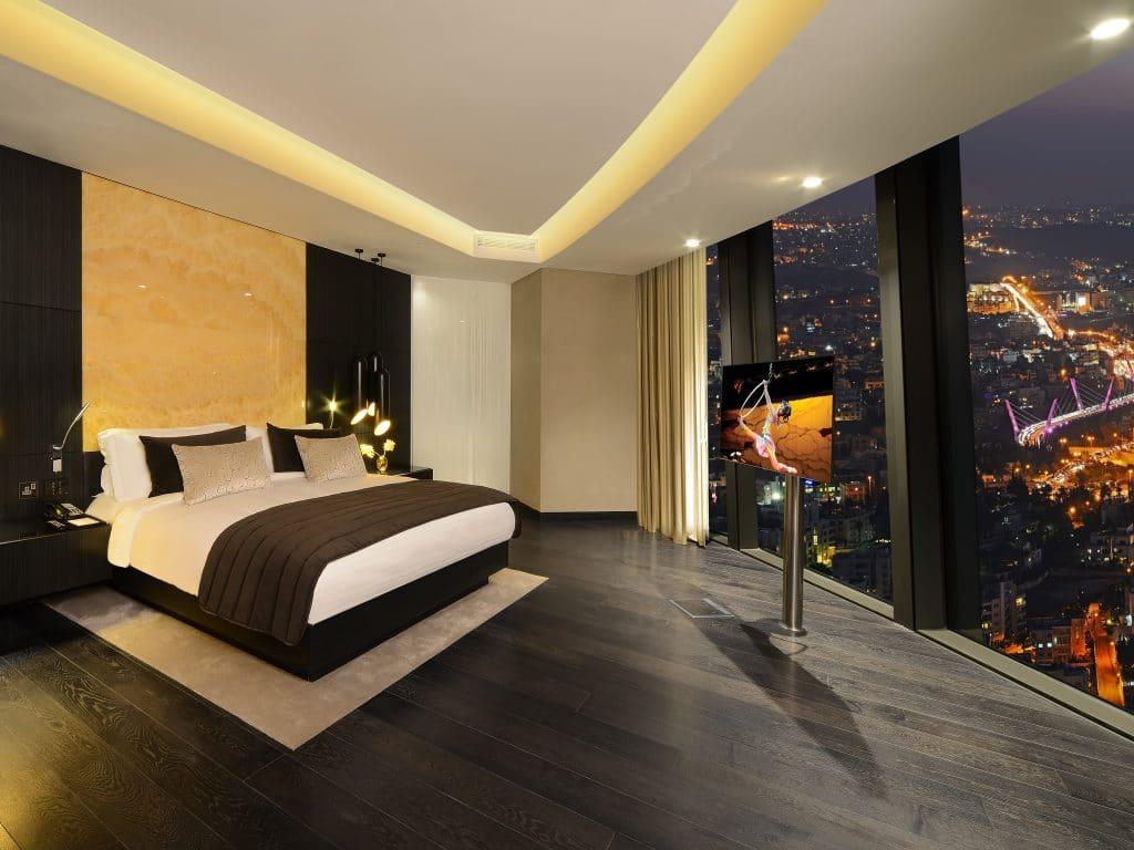 غرف فندق عمان روتانا