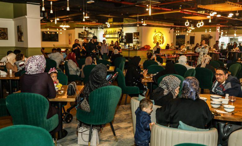 Diners Enjoying Live Entertainment