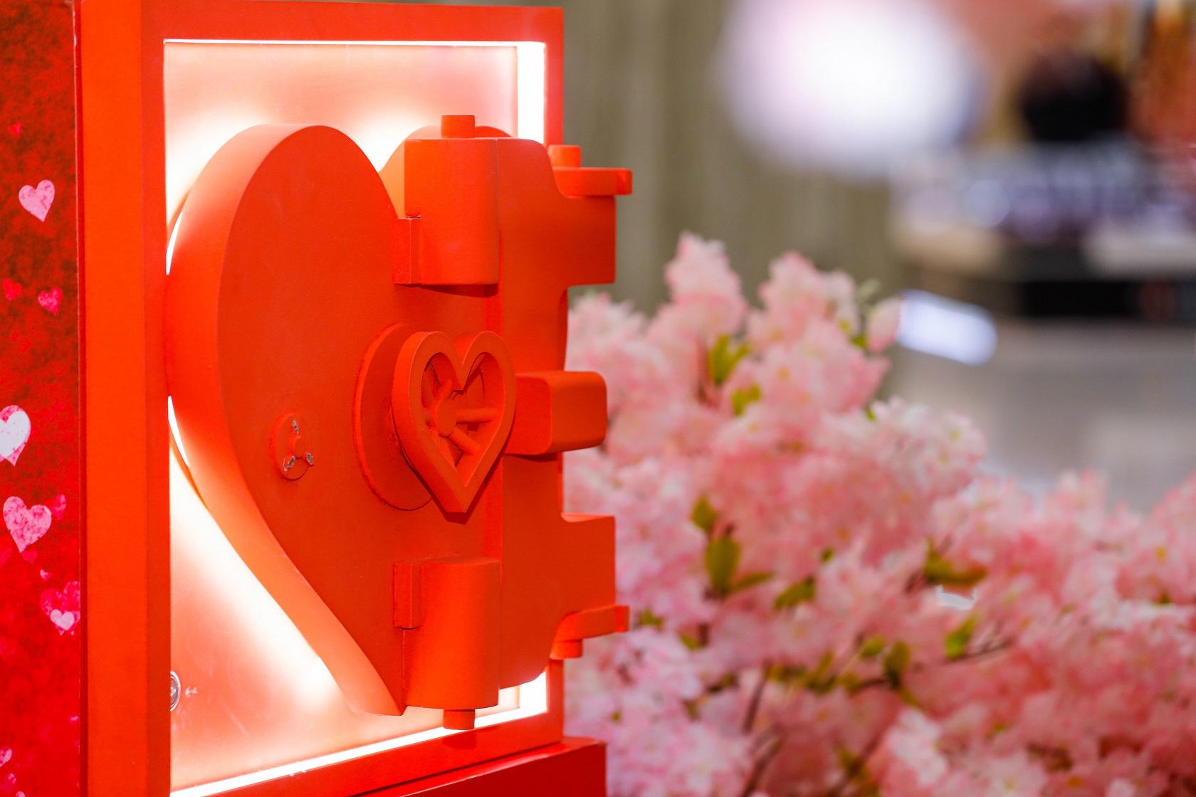 فعالية حديقة المحبة