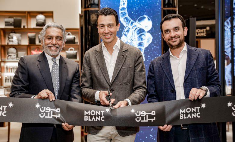 L-R – Mr. Ramesh Prabhakar, CEO and Managing Partner of Rivoli Group & Julien Renard, Executive Vice President Sales, Montblanc & Franck Juhel, President of Montblanc Middle East, India and Africa