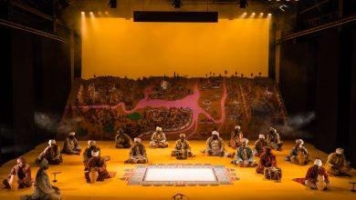 صورة حفل الفنان وائل شوقي في متحف اللوفر أبوظبي خلال فبراير 2020
