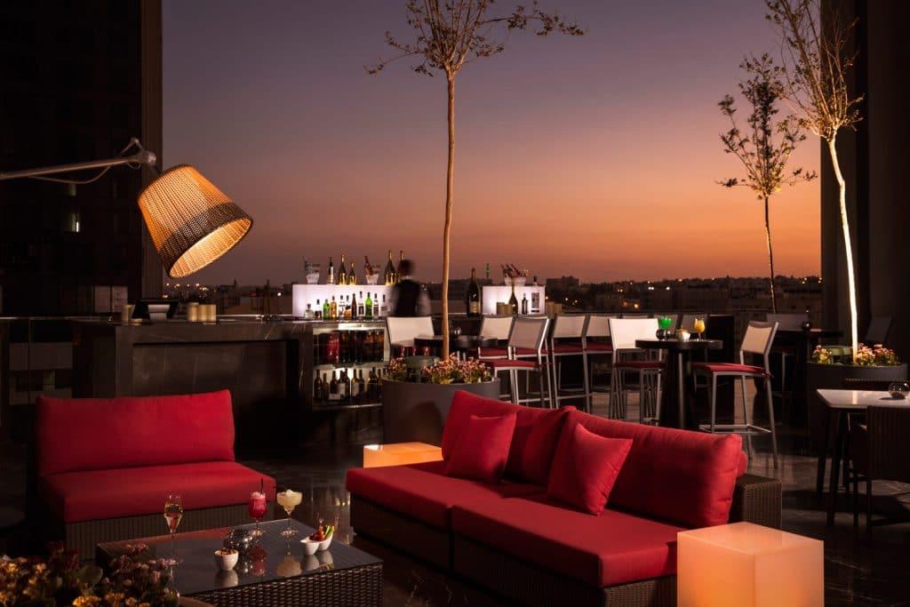 لاونج فندق عمان روتانا