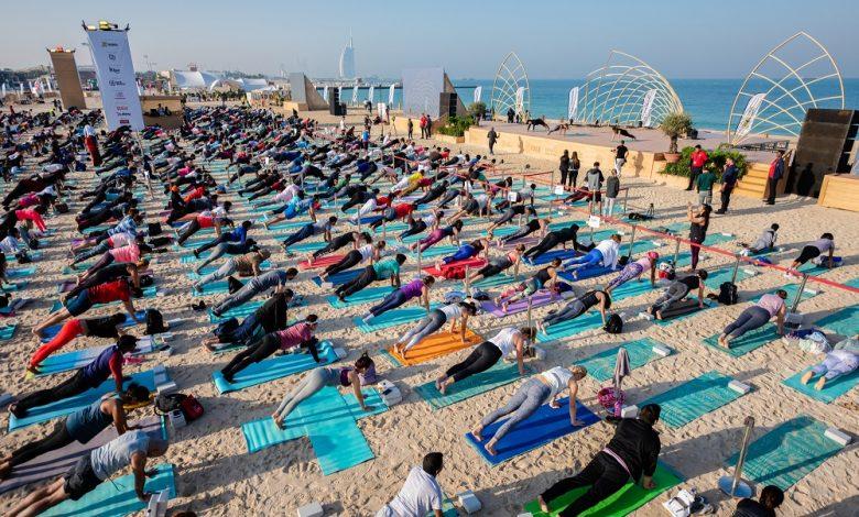 دبي تستضيف النسخة الرابعة من مهرجان إكس يوغا 2020