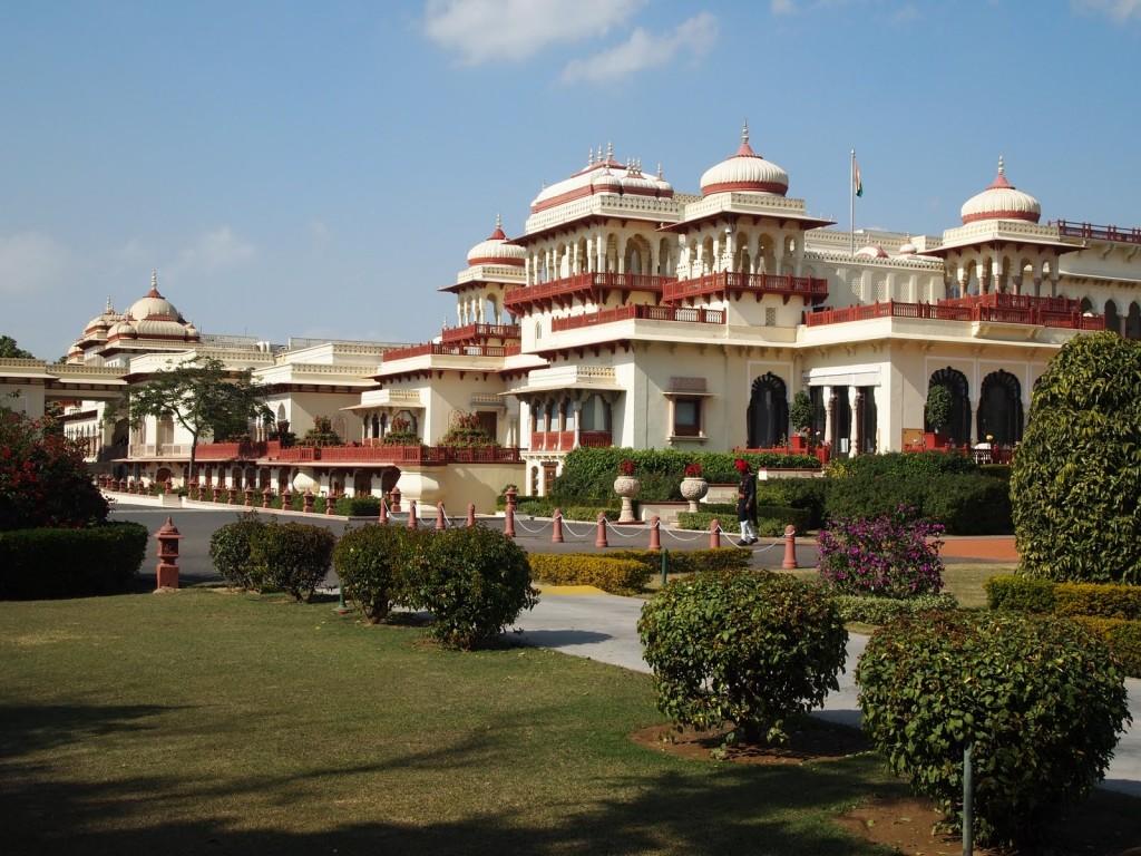قصر رامباغ في جايبور