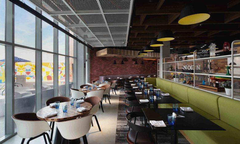 مطعم نوك في فندق ألوفت دبي ساوث