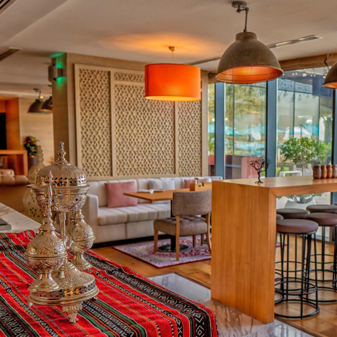 مطعم بيت النخلة