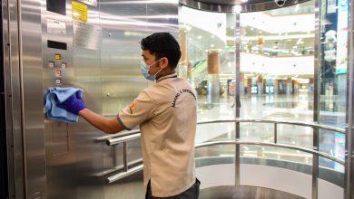 صورة دلما مول يطلق حملة النظافة و الصحة نحن نهتم