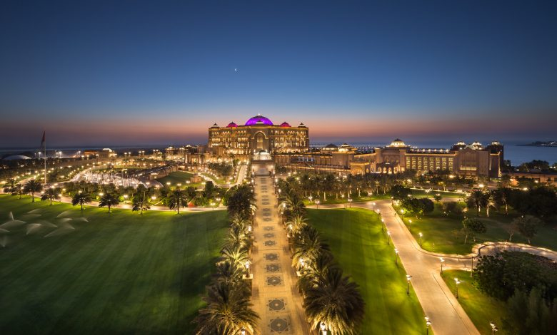 Emirates Palace – Dusk (hero shot)