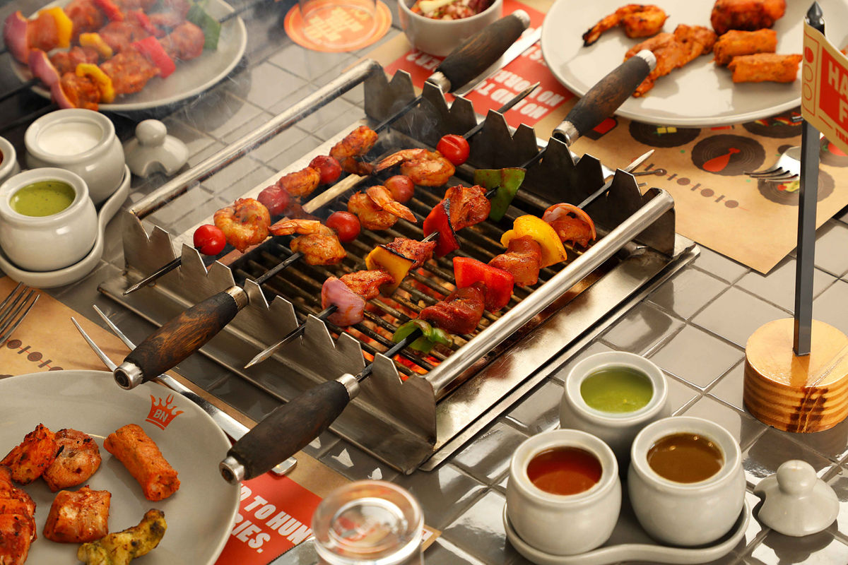 مطعم Barbeque Nation