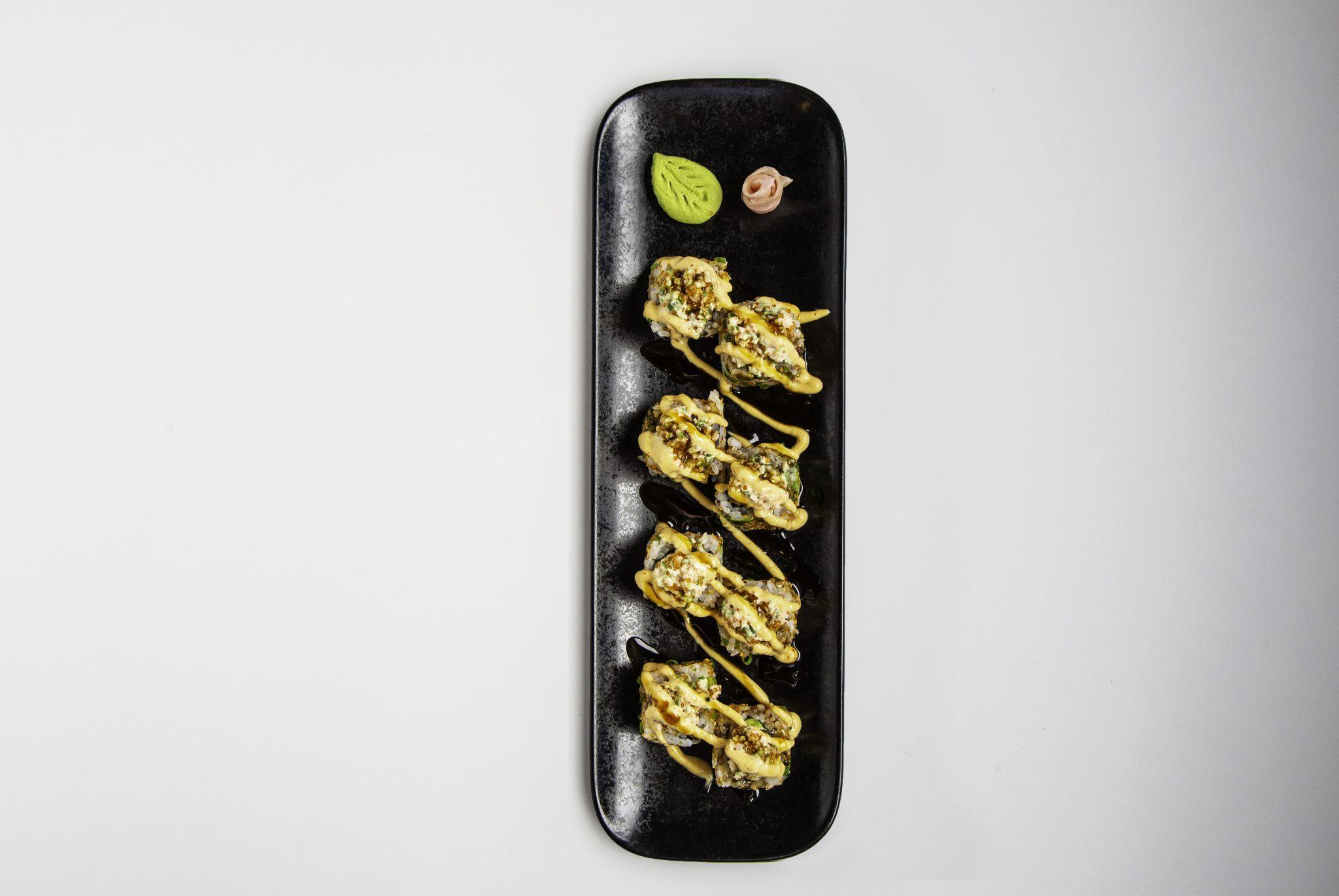 قائمةطعامجديدة من أطباق السوشي