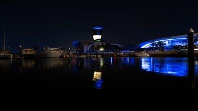 Photo of جزيرة ياس تشارك في الحملة العالمية #LightItBlue