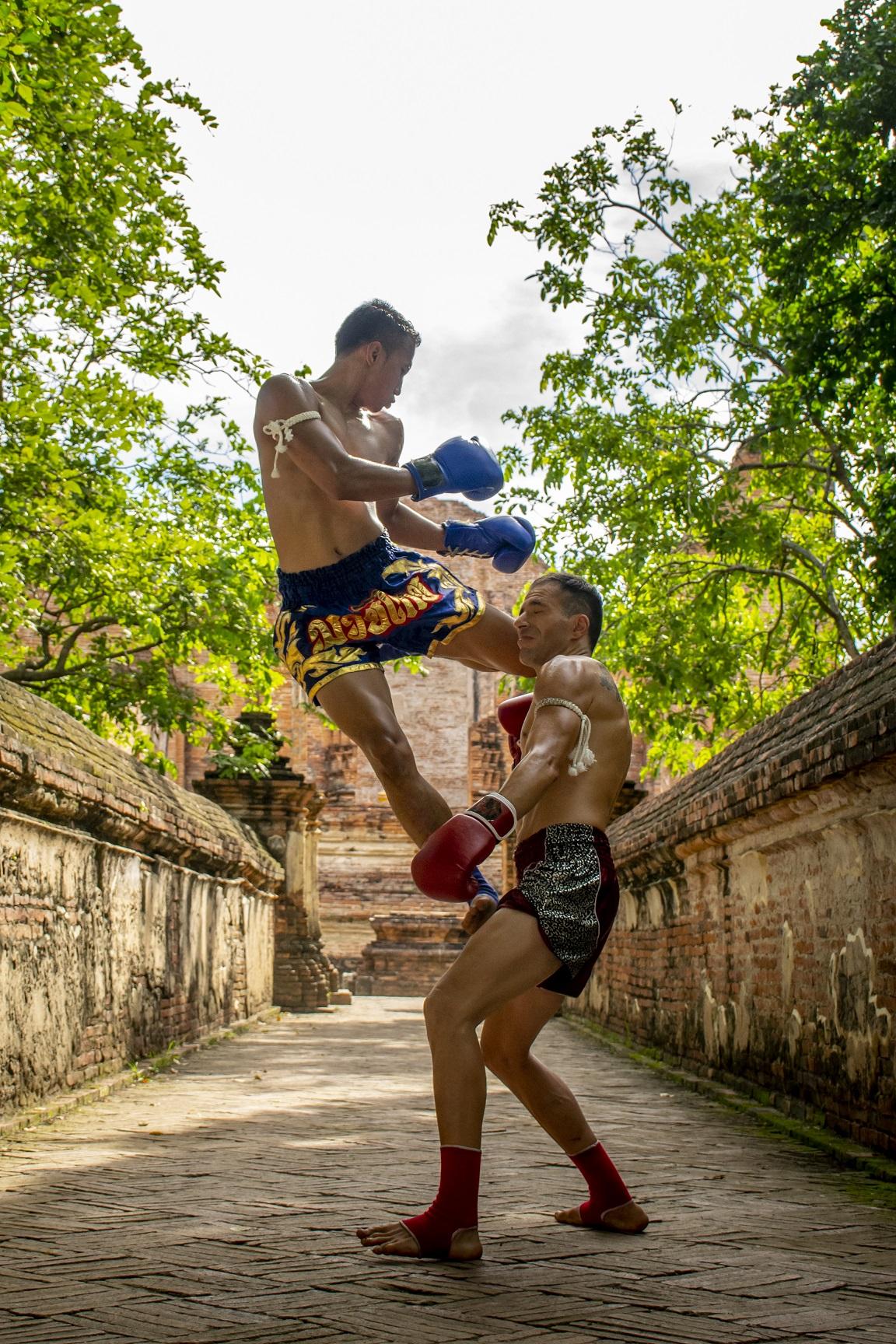 الملاكمة التايلاندية موياي تاي
