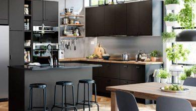 صورة أفكار بسيطة للتخزين الذكي في المطبخ من شركة ايكيا