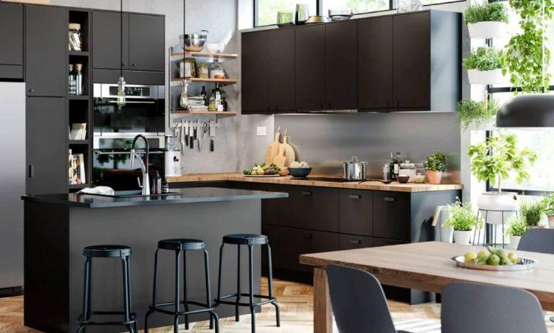 أفكار بسيطة للتخزين الذكي في المطبخ من شركة ايكيا