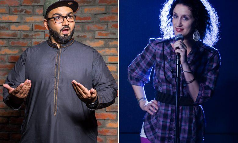 Ali Al Sayed and Mina Liccione