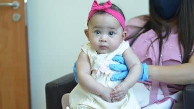 Photo of قصة شفاء أصغر طفلة مُصابة بكورونا في مستشفى الزهراء دبي