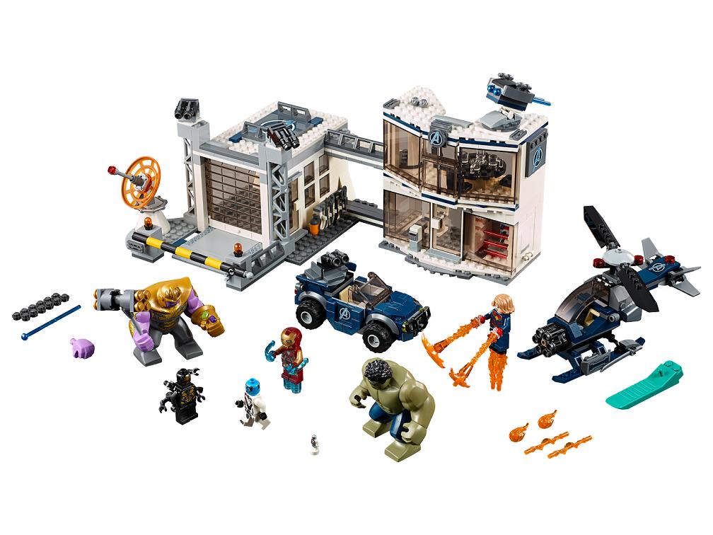 مجموعة LEGO® Marvel Avengers