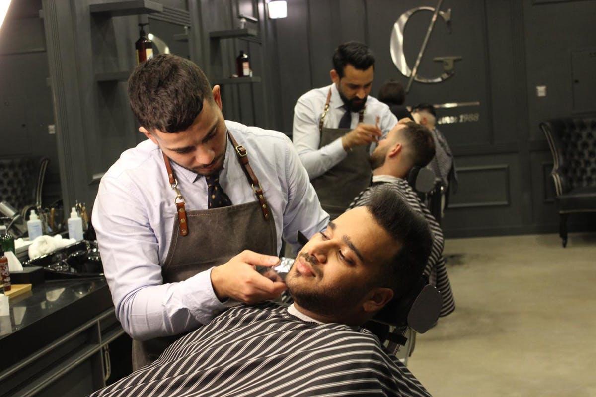صالون الحلاقة CG Barbershop