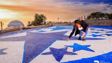 صورة لبنانية تحقق رقم غينيس لأكبر فسيفساء موزاييك من أغطية العبوات