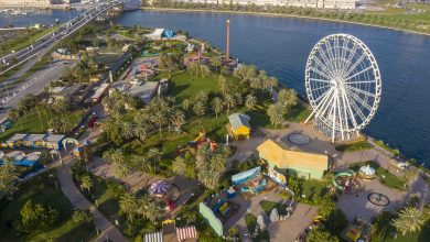صورة إفتتاح جميع حدائق المنتزه التابعة لهيئة الشارقة للاستثمار