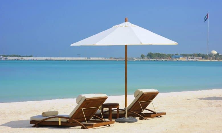 Nation Riviera Beach Club – Sun Bed Sea view