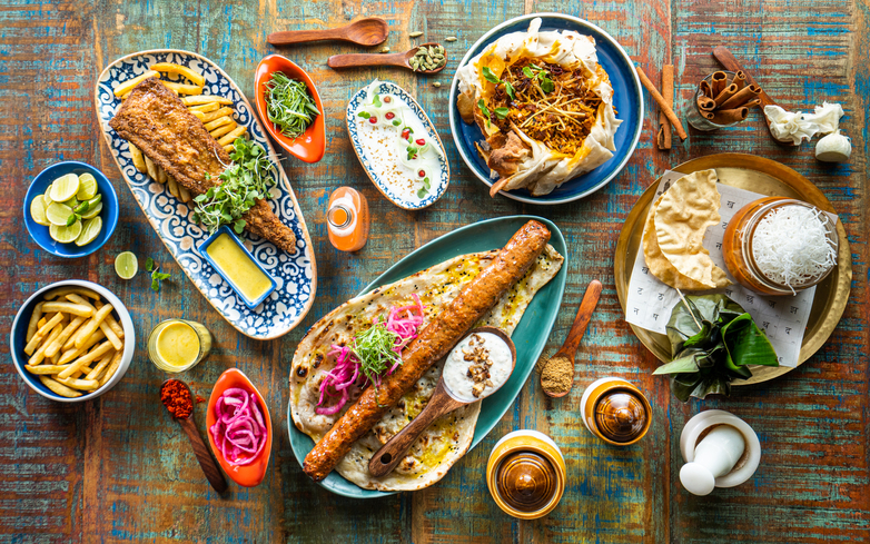 الأطباق الهندية