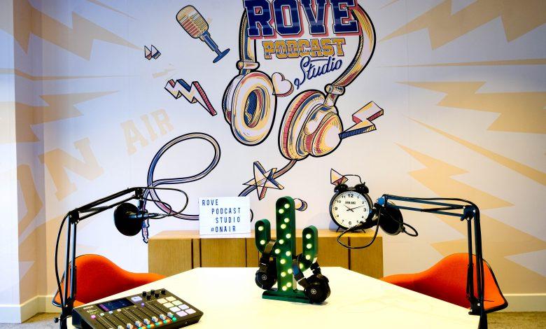 Rove Podcast Studio 4