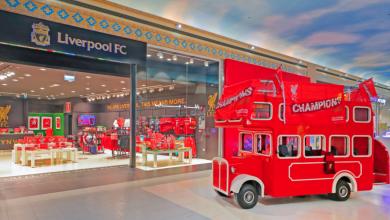 صورة افتتاح ثالث متجر رسمي خاص بنادي ليفربول في دبي