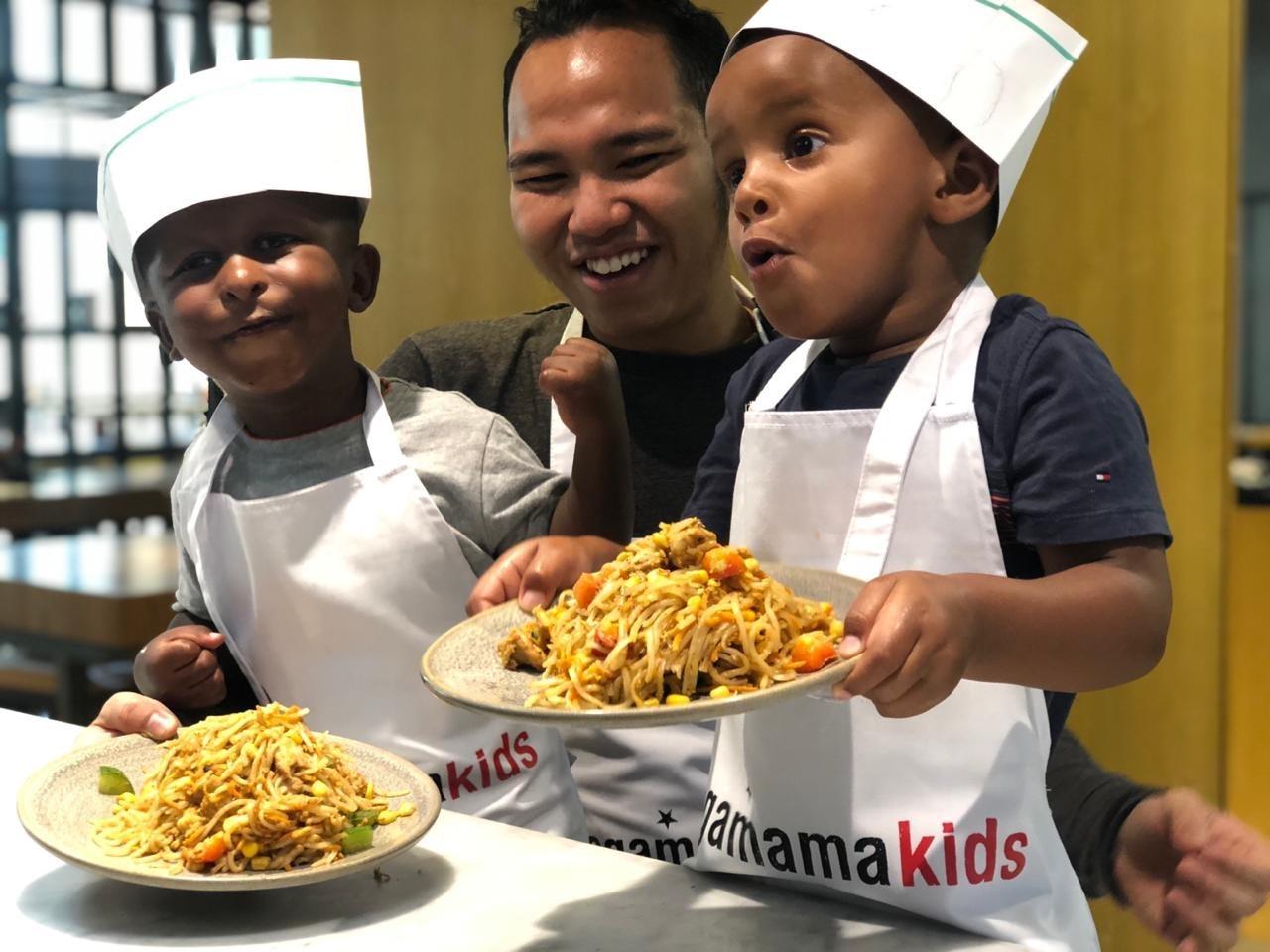فصول الطهو الخاصة بالأطفال