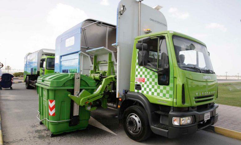 أين يمكن إعادة تدوير النفايات في دبي