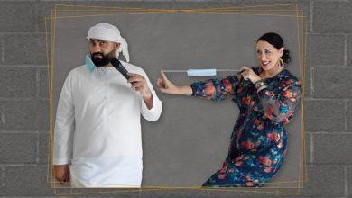 صورة عرض كوميدي للفنانين علي السيد ومينا ليشيوني في دبي خلال أغسطس 2020