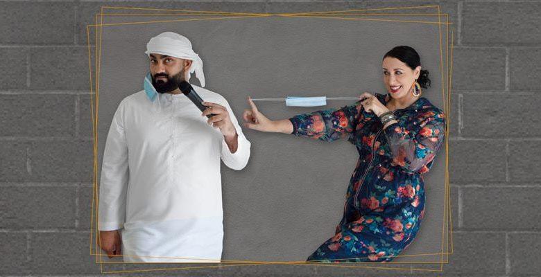 عرض كوميدي للفنانين علي السيد ومينا ليشيوني في دبي خلال أغسطس 2020
