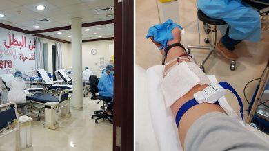 صورة الخطوات و بالصور كيف تتم عملية التبرع بالدم في دبي ؟