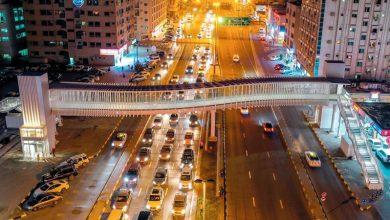 صورة افتتاح أربعة جسور جديدة للمشاة في الشارقة