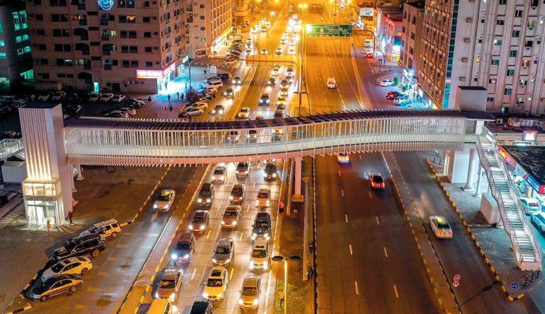 افتتاح أربعة جسور جديدة للمشاة في الشارقة