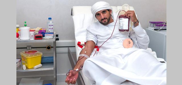 التبرع بالدم في الإمارات