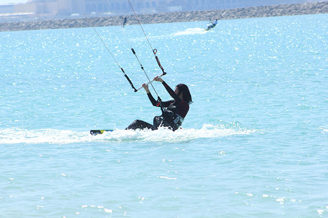 رياضة Kite surfing