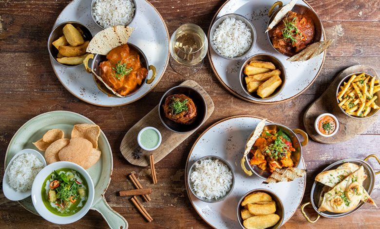 مطعم ذا سين يقدم ألذ أطباق الكاري بسعر 99 درهم فقط