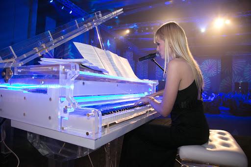 عازفة البيانو اليكساندرا كرستيك