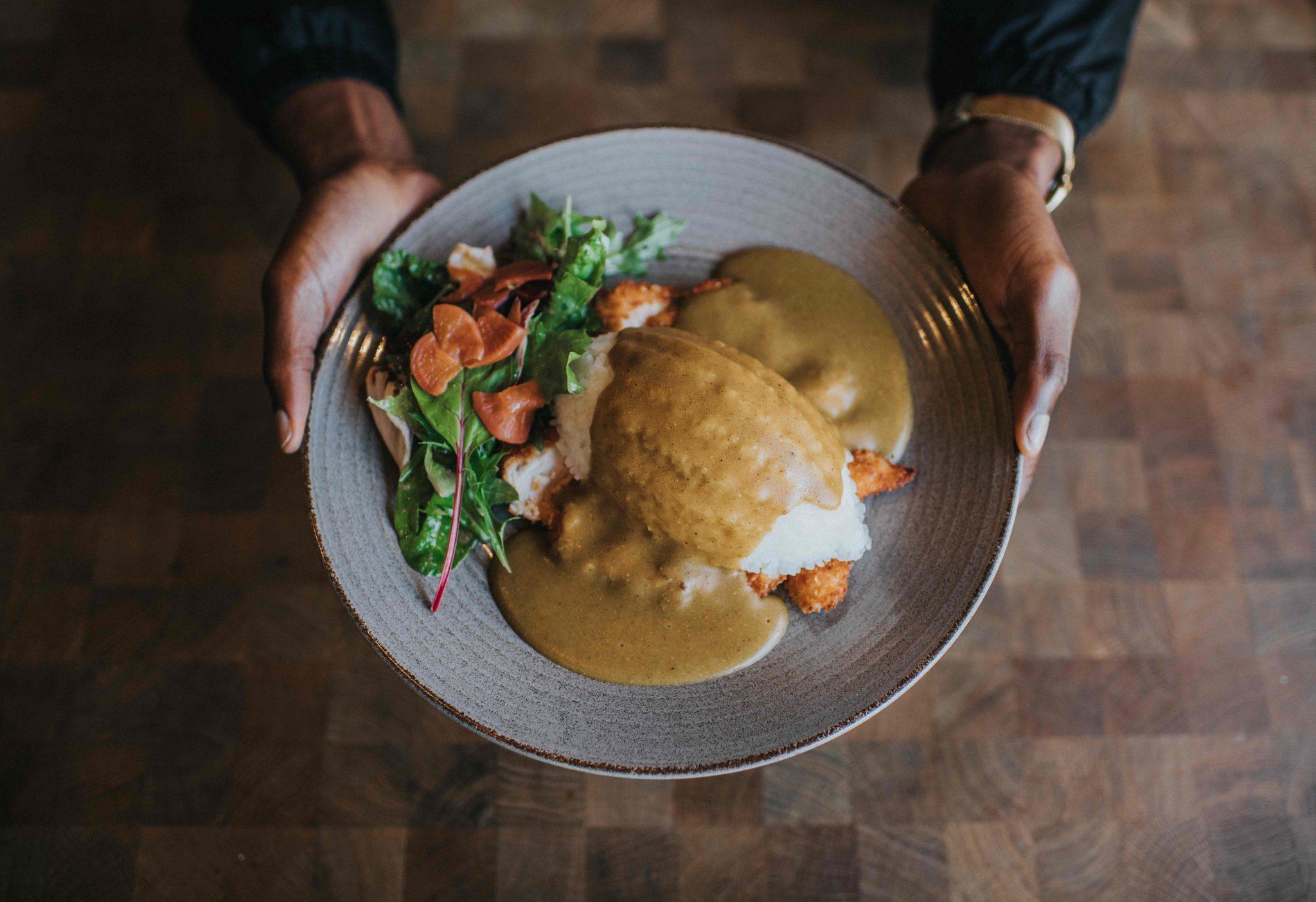 طبق دجاج كاتسو كاري