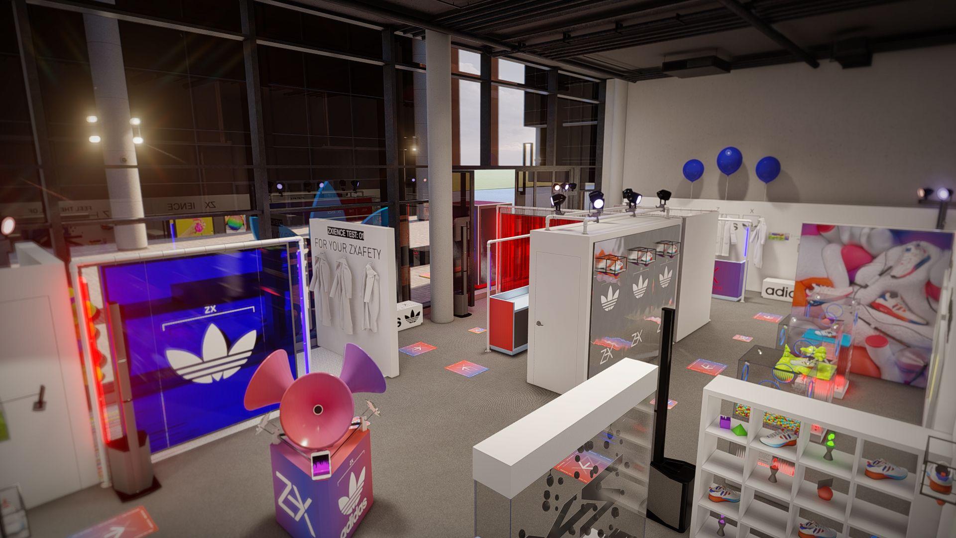أديداس تفتتح متحفها المصغّر Oddly ZXatisfyingفي حي دبي للتصميم