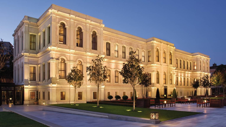 فندق فورسيزونز اسطنبول مضيق البوسفور