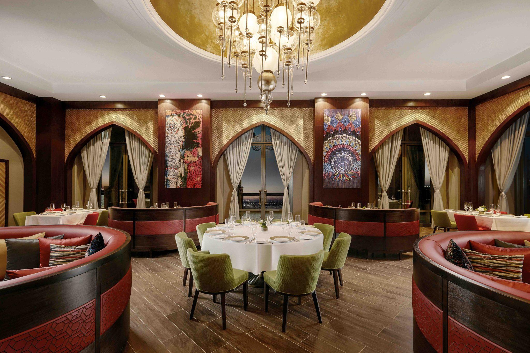 المطاعم في فندق قصر الإمارات