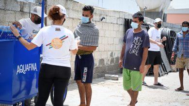 صورة مبادرة برّد صيفهم لنشر البسمة بين العمّال في الإمارات