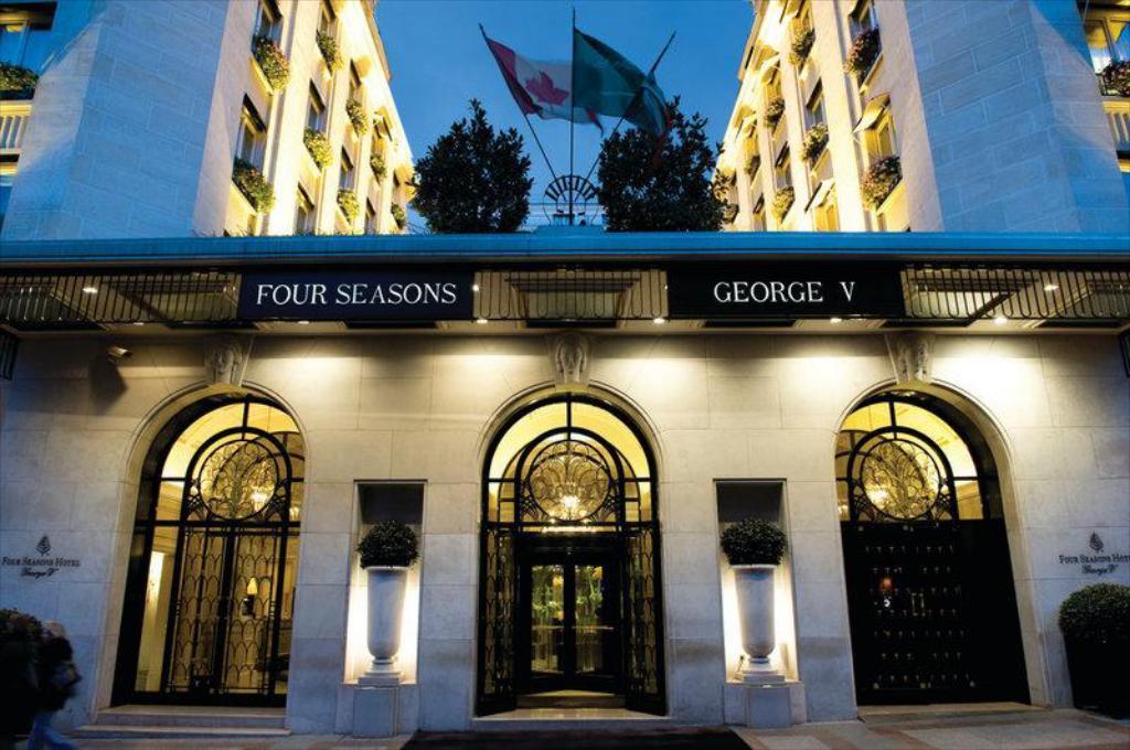 فندق فورسيزونز جورج الخامس باريس
